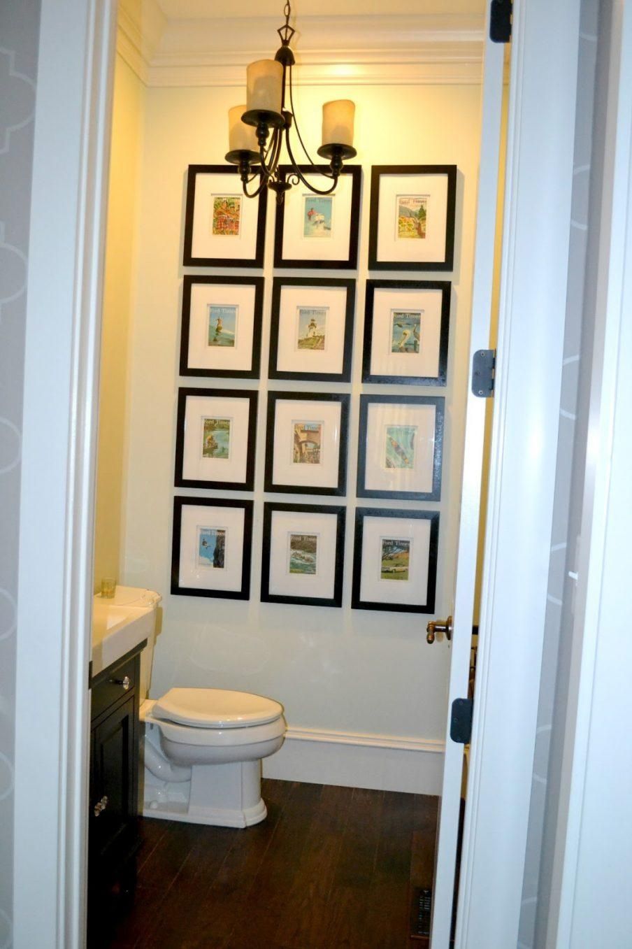 Pretty Bathroom Wall Art Ideas Small Wallrt Teal Printsrgos In Red Bathroom Wall Art (Image 13 of 20)