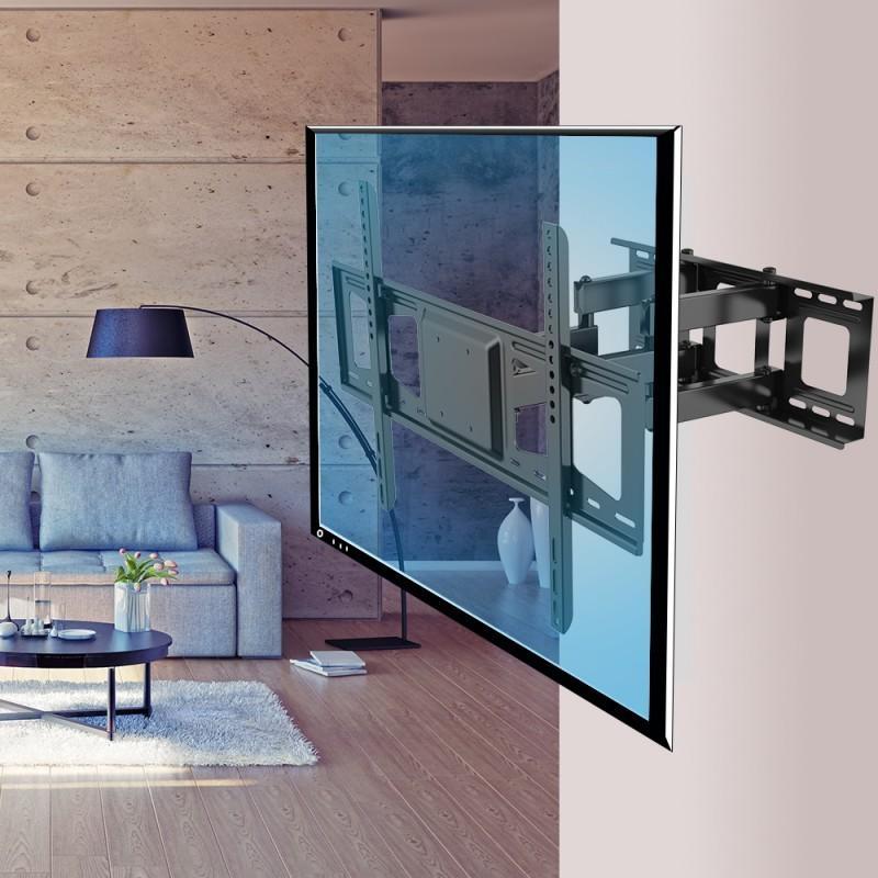 Pricedepot | Fleximounts V3 Full Motion Tilt Tv Wall Mount Bracket For Newest Tilted Wall Mount For Tv (Image 8 of 20)