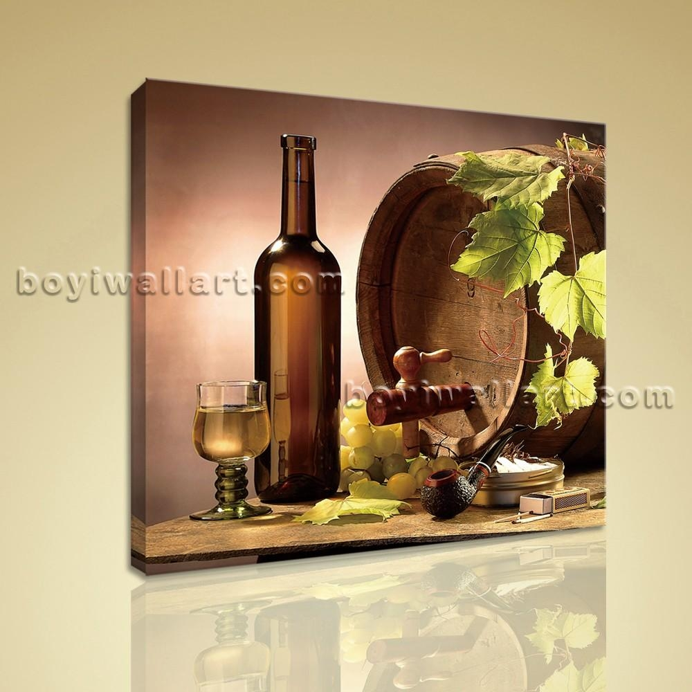 20 ideas of canvas wall art for dining room wall art ideas for Wine wall art decorating dining room