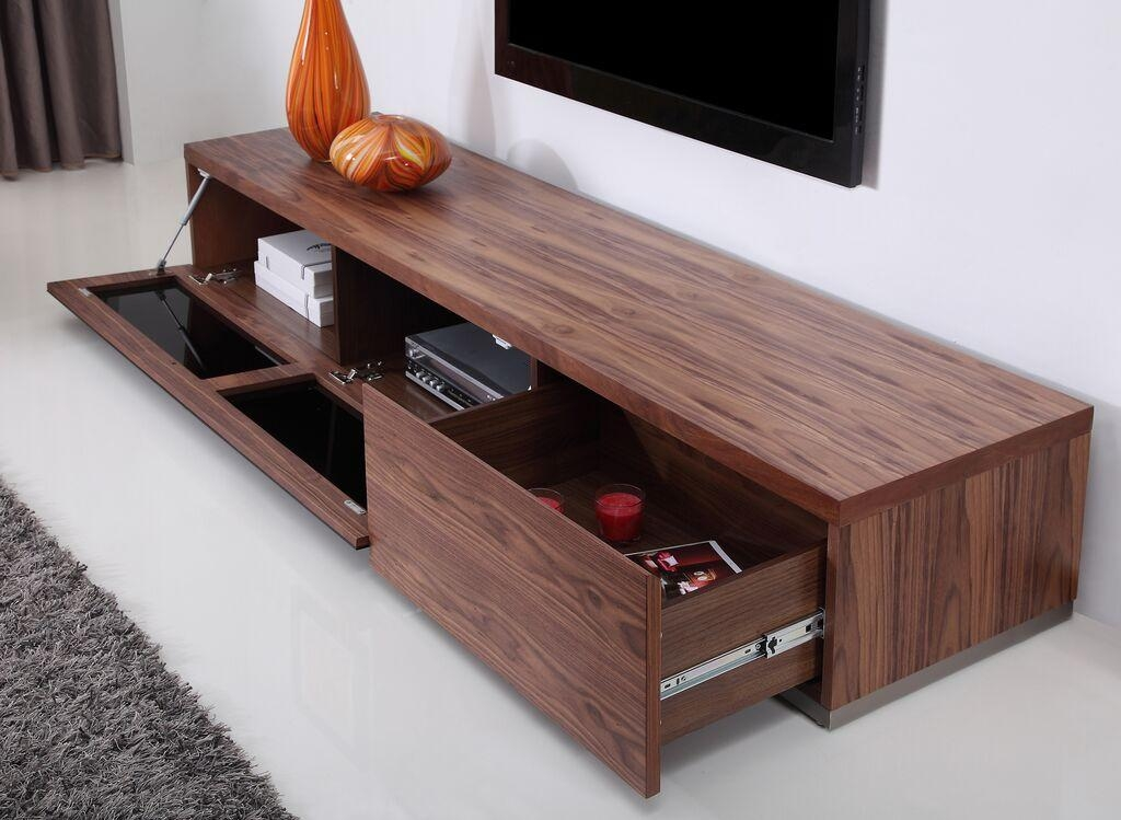 Producer Tv Stand | Light Walnut, B Modern – Modern Manhattan With Most Popular Walnut Tv Stand (View 2 of 20)