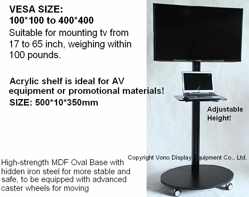 Products – Vono Display For 2018 Single Tv Stands (View 5 of 20)