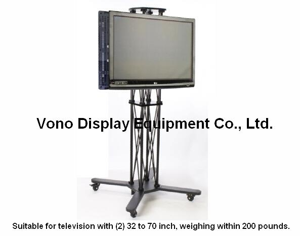 Products – Vono Display Intended For Newest Double Tv Stands (Image 16 of 20)