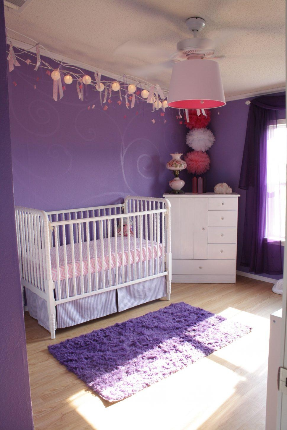 Wall Art Ideas: Purple Wall Art for Bedroom (Explore #19 of 20 Photos)