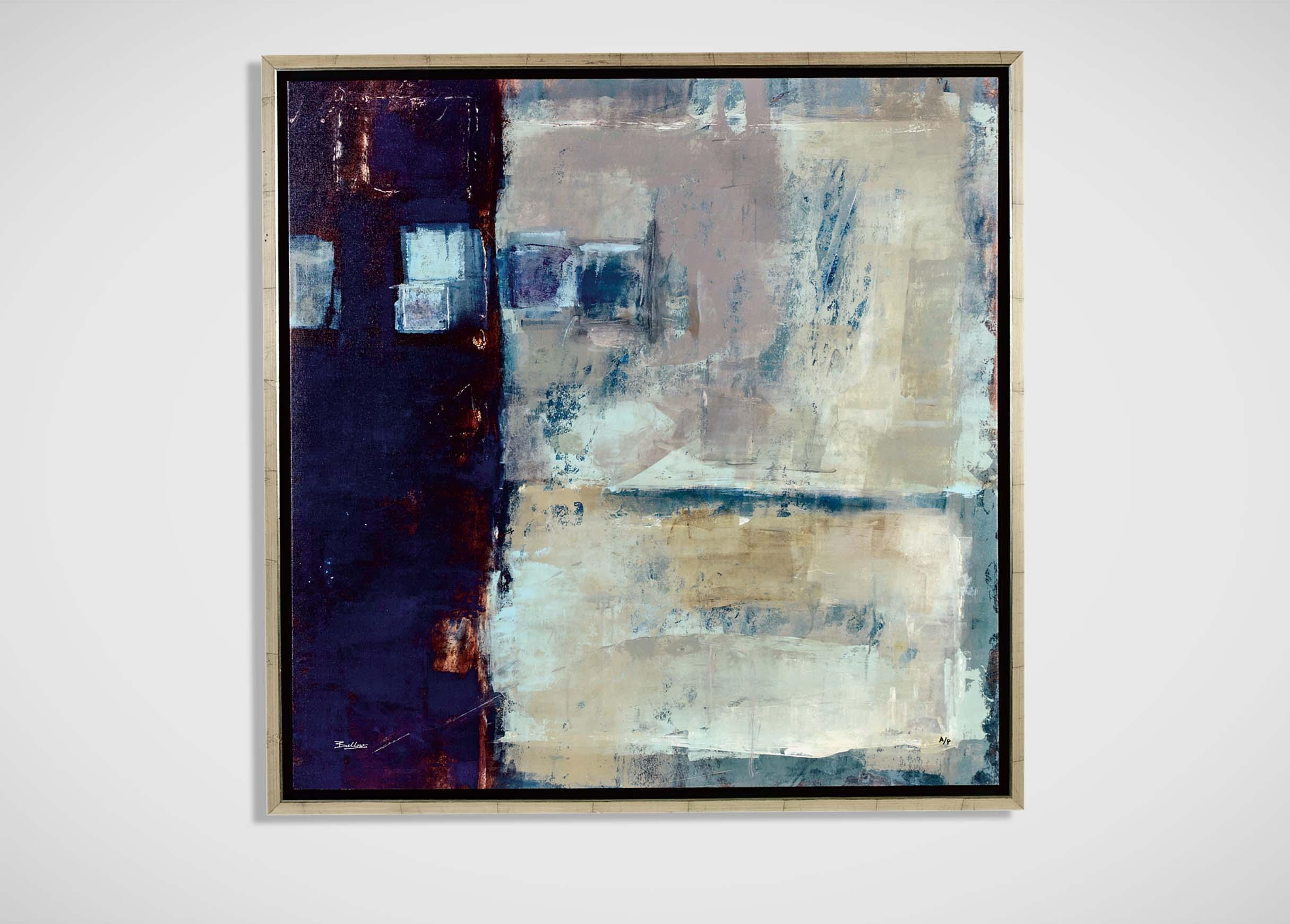 Quality Control I | Abstract in Ethan Allen Wall Art
