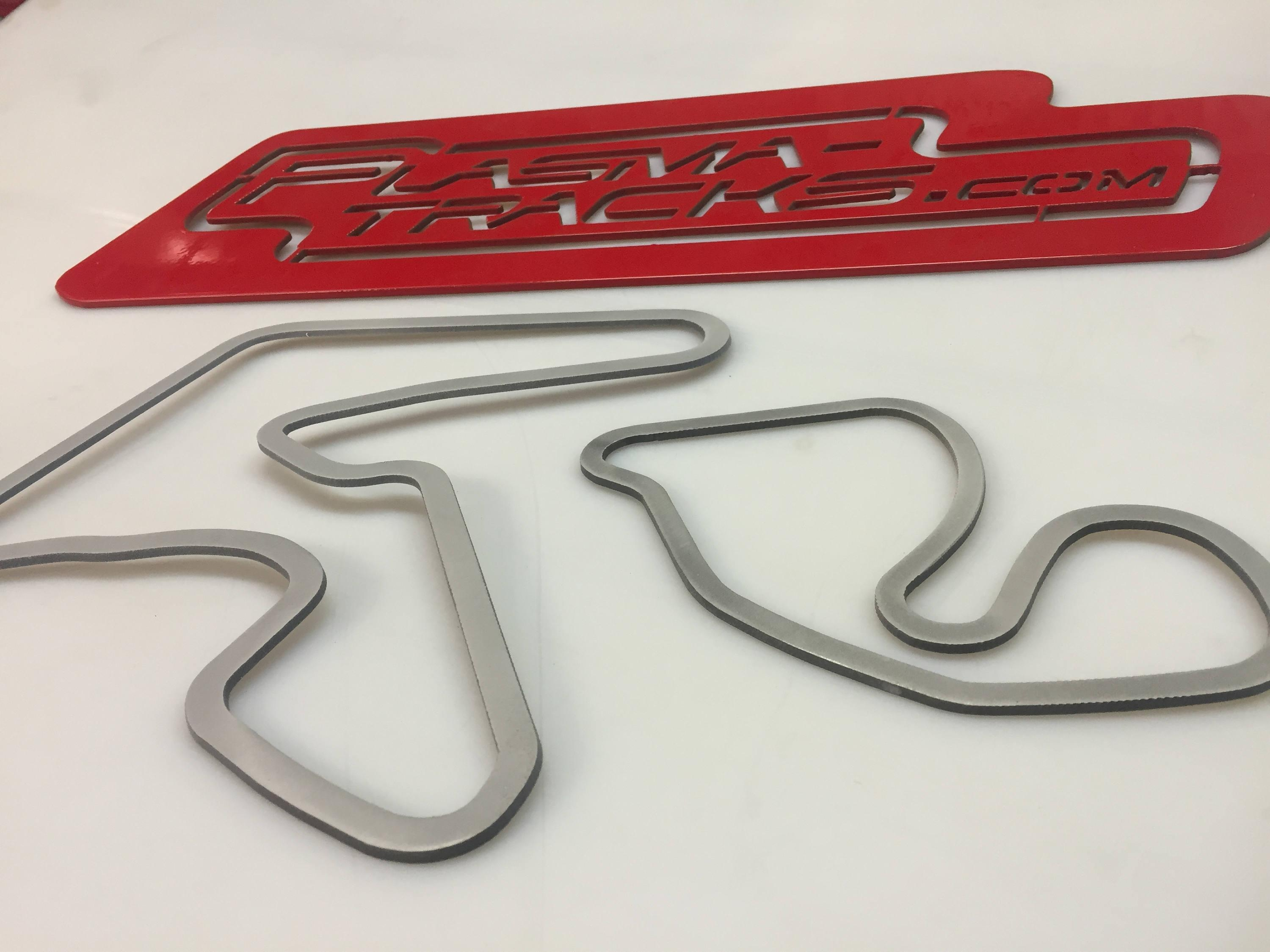 Race Track Wall Art. 4 To 12 Inch (Image 15 of 20)