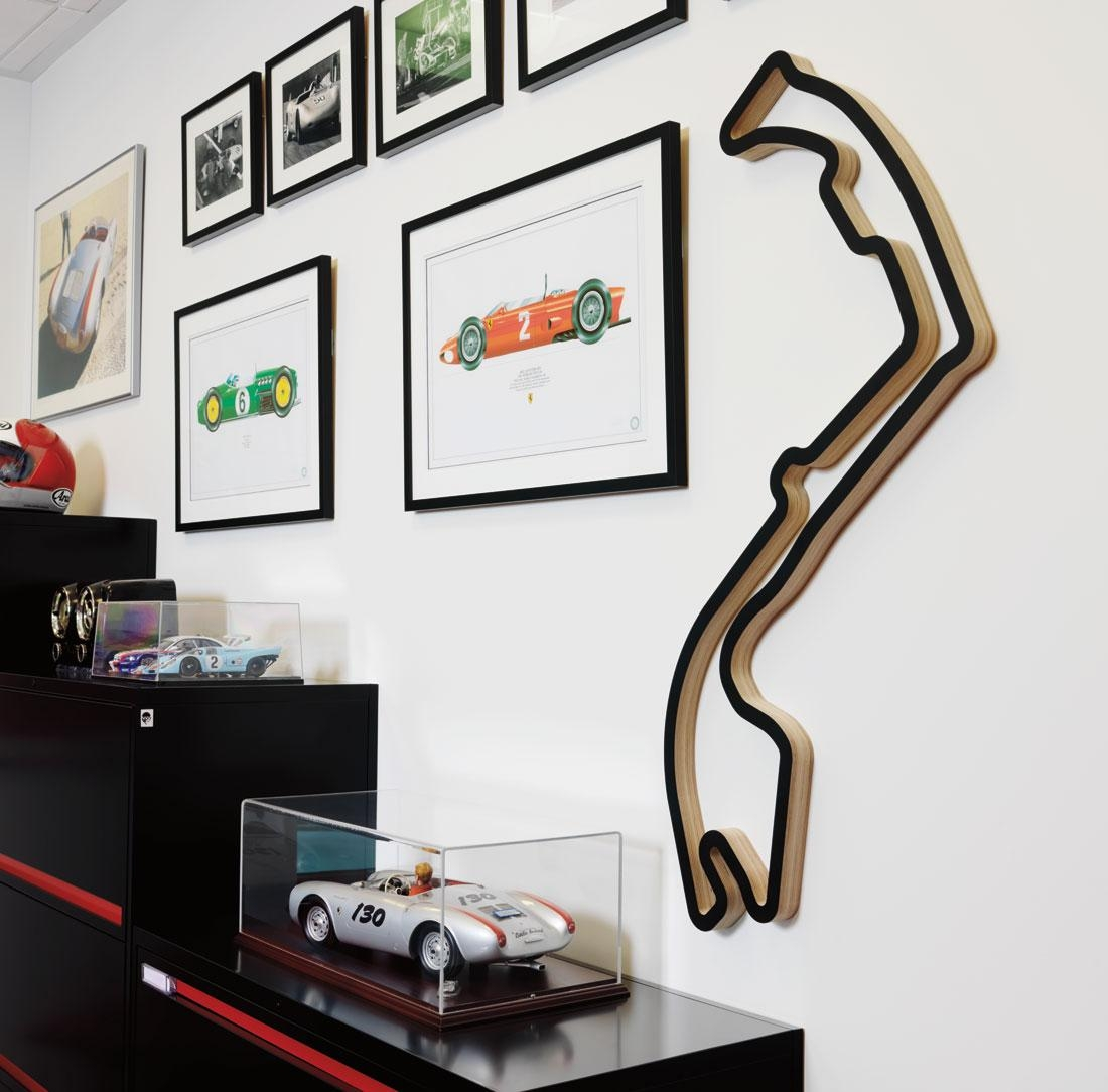 Race Tracks Of The World | Cartype Pertaining To Race Track Wall Art (Image 16 of 20)