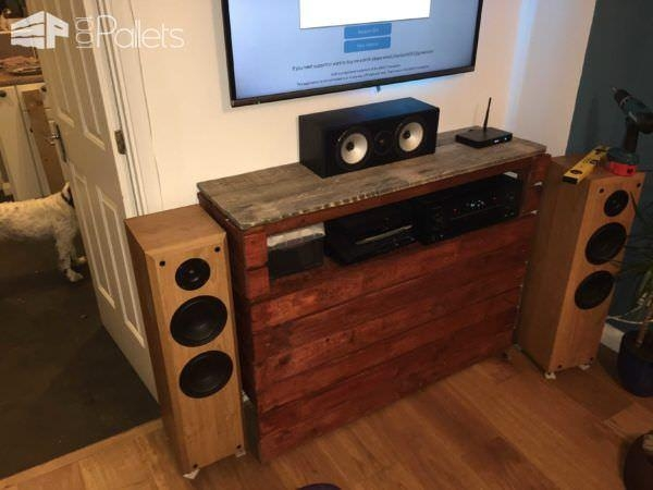 Radiator Cover Doubled Up As An Entertainment Centre • 1001 Pallets In Most Up To Date Radiator Cover Tv Stands (Image 12 of 20)