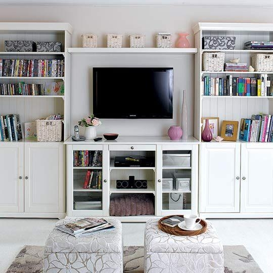 Reading, Watching, Working – You Really Can Do It All In One Space With Regard To Most Popular Tv Stands With Bookcases (Image 12 of 20)
