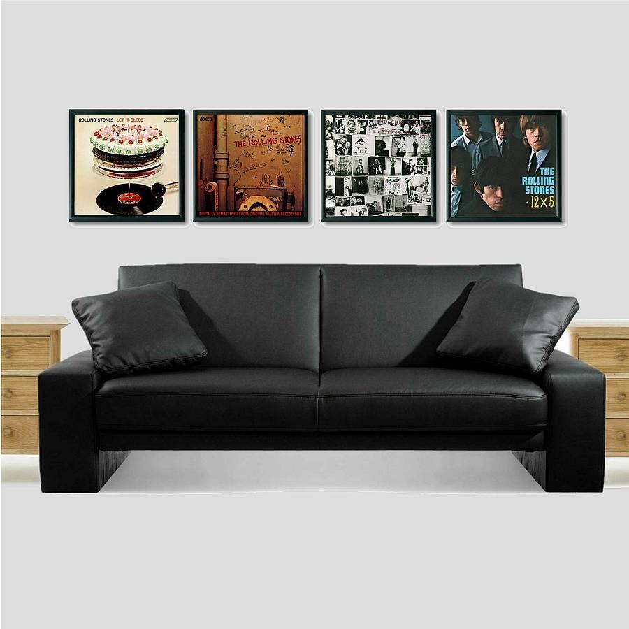 Ready Framed Lp Album Covervinyl Village | Notonthehighstreet Regarding Album Cover Wall Art (Image 15 of 20)
