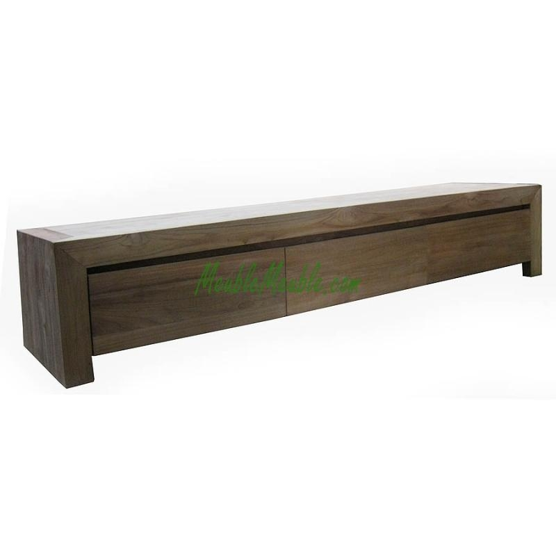 Reclaimed Teak Low Tv Stand Bold | Teak Furniture Producer Pertaining To Most Recent Long Tv Stands Furniture (Image 13 of 20)