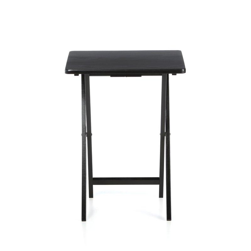 Red Barrel Studio Anthem Folding Tv Tray Table With Stand With Most Recent Folding Tv Tray (Image 15 of 20)