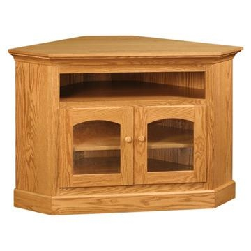 Red Oak Corner Tv Stand – Ecnicesv290 Pertaining To Recent Corner Oak Tv Stands (Image 11 of 20)