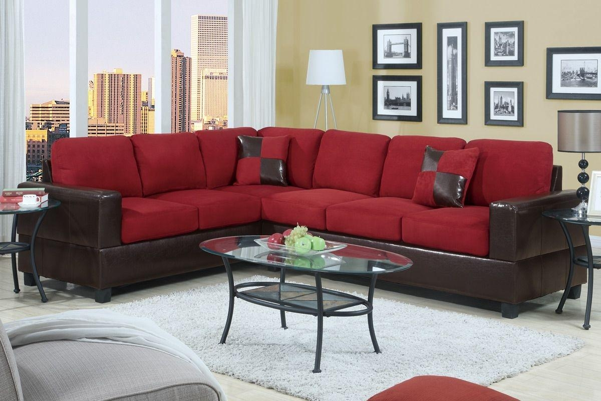 Red Sectional Sleeper Sofa 32 With Red Sectional Sleeper Sofa With Red Sectional Sleeper Sofas (Image 9 of 22)