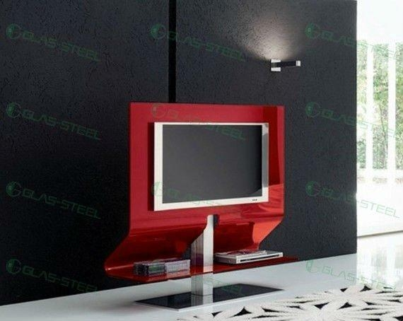 Red Tv Stand. . Modern Tv Stand Wcst (View 6 of 20)