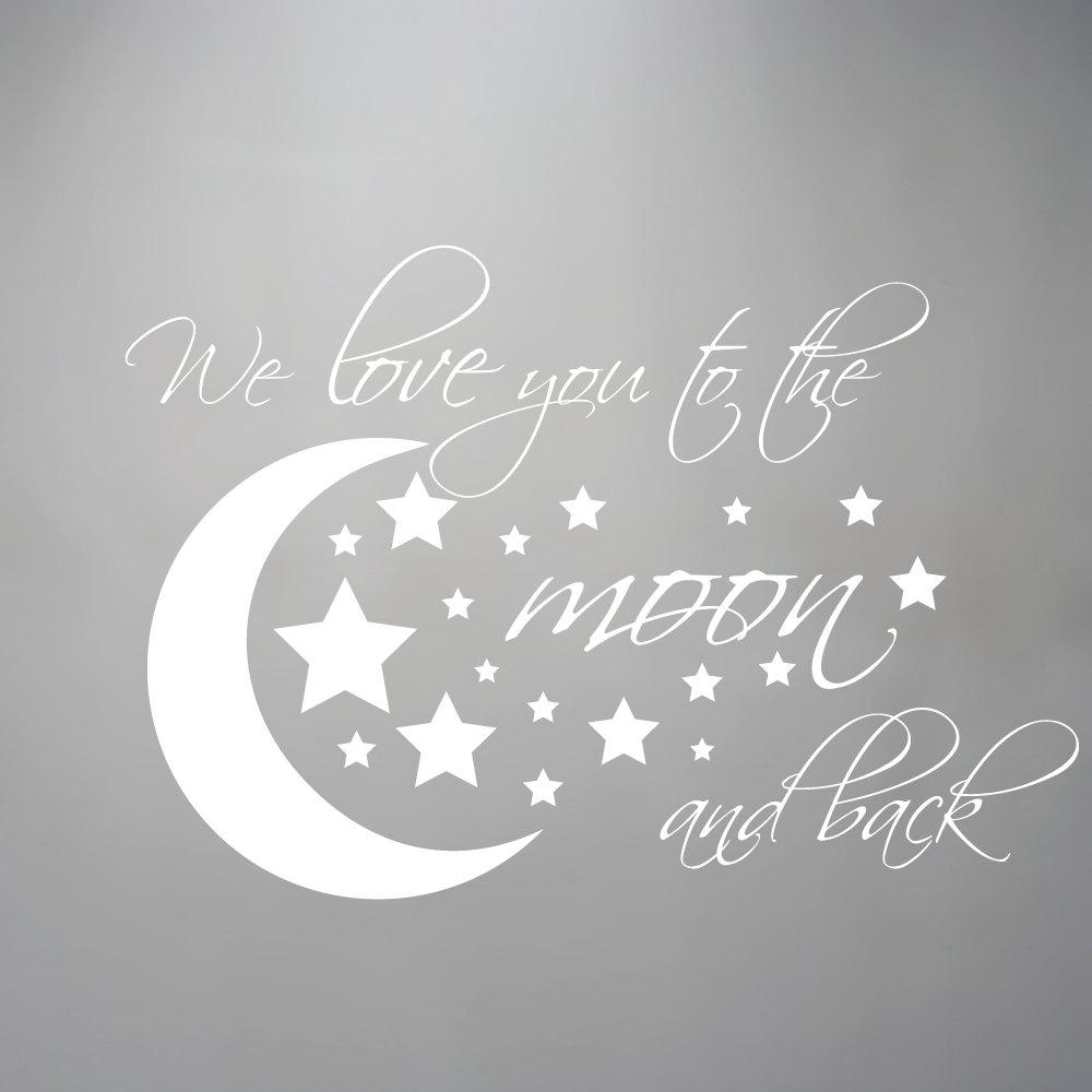 Remarkable Ideas I Love You To The Moon And Back Wall Art Classy Within Love You To The Moon And Back Wall Art (Image 17 of 20)