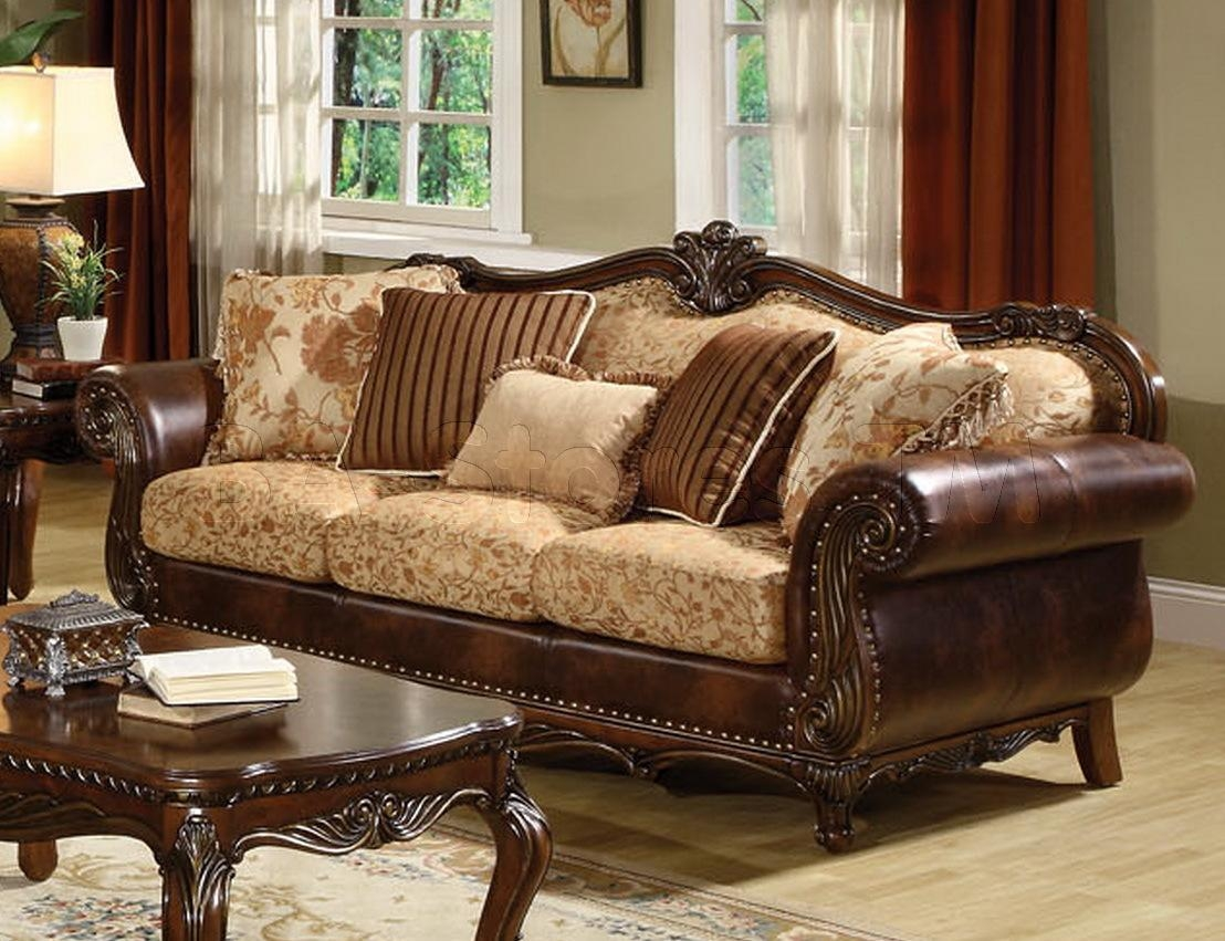 Remington Sofa | Sofas Af 50155/7 Within Leather And Material Sofas (Image 18 of 21)