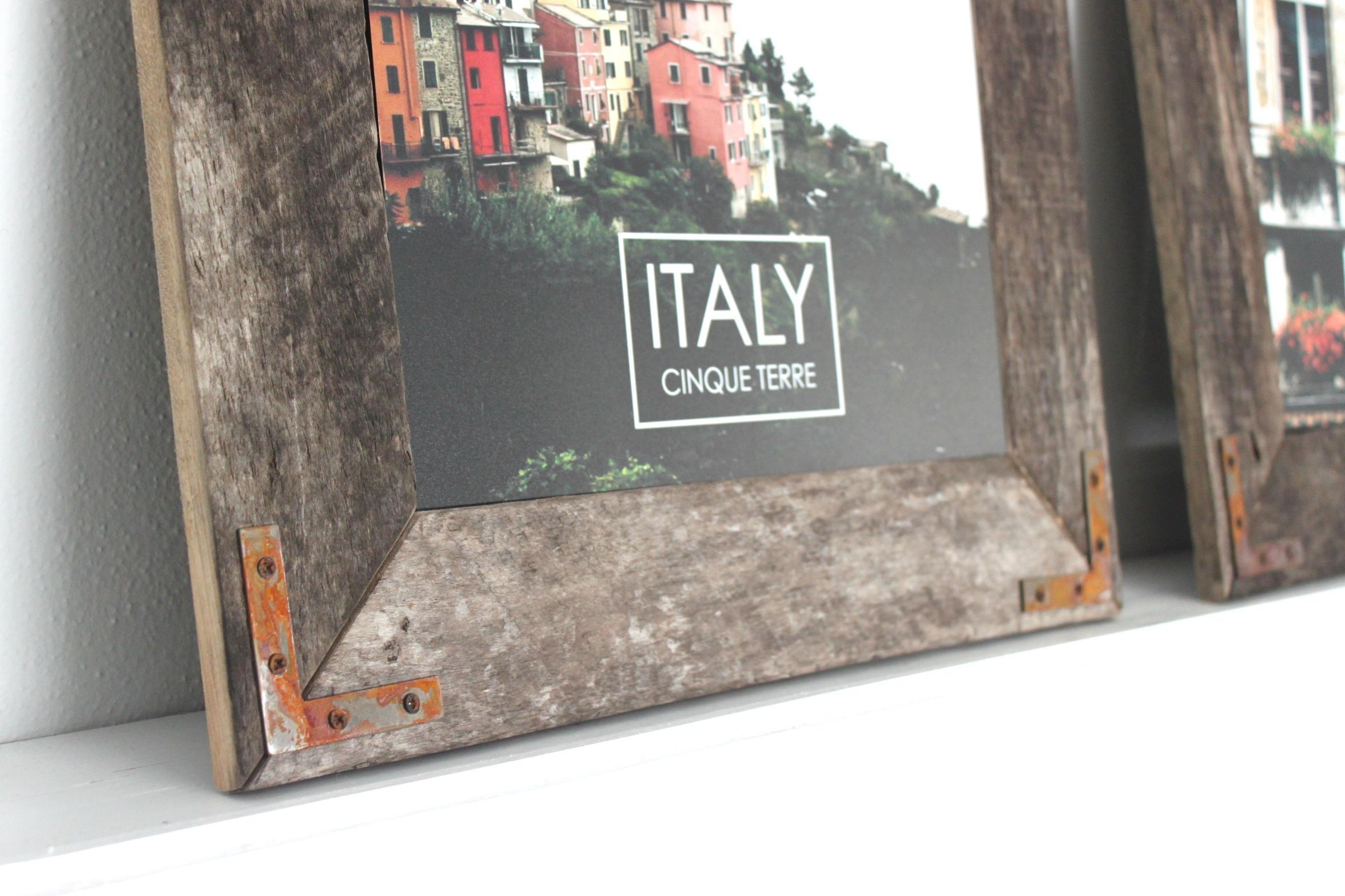 Remodelaholic | Easy Diy Rustic Industrial Picture Frame Throughout Diy Industrial Wall Art (Image 14 of 20)
