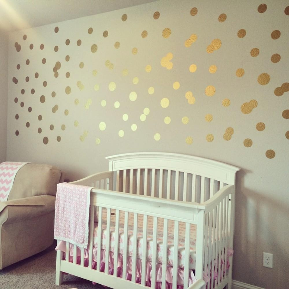 Removable Wall Stickers – Vinyl Wall Art Decals, Kids Nursery Quotes Inside Gold Wall Art Stickers (View 8 of 20)