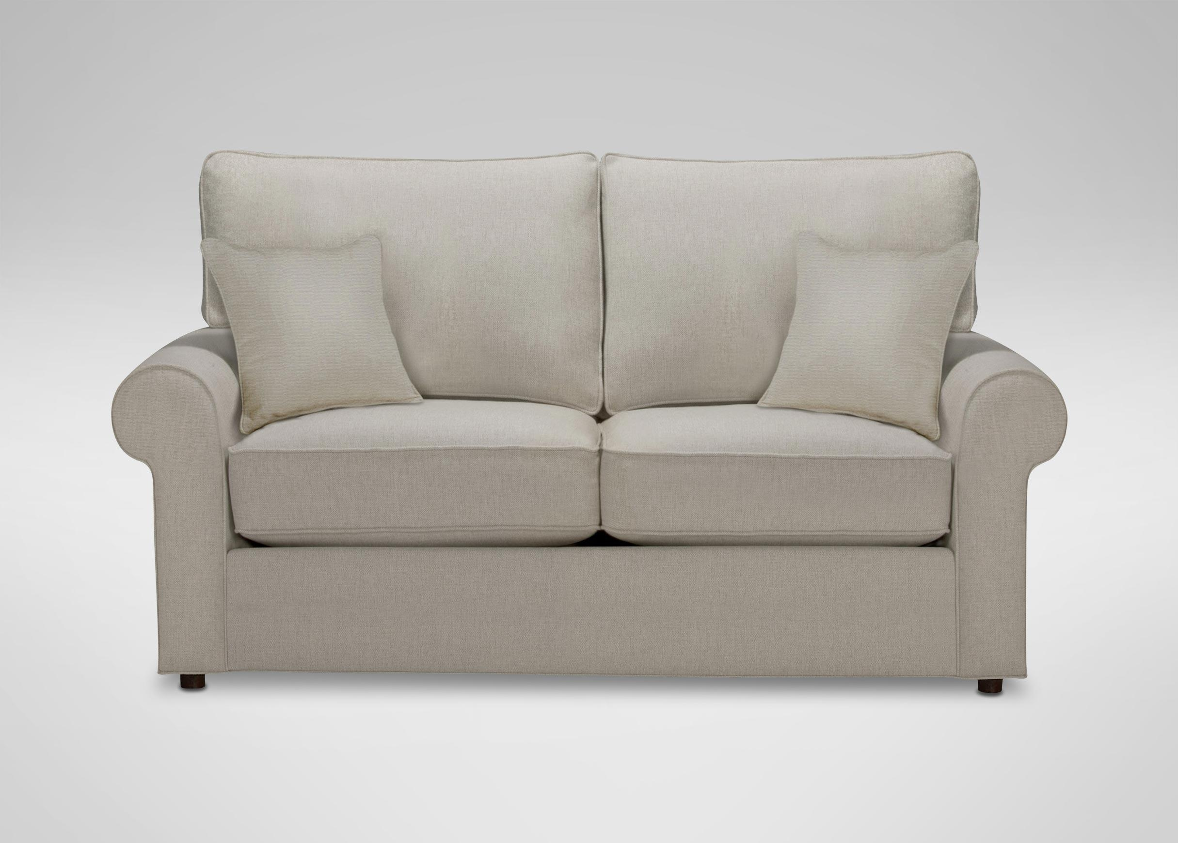 Retreat Roll Arm Sofa, Quick Ship | Sofas & Loveseats In 68 Inch Sofas (Image 12 of 20)
