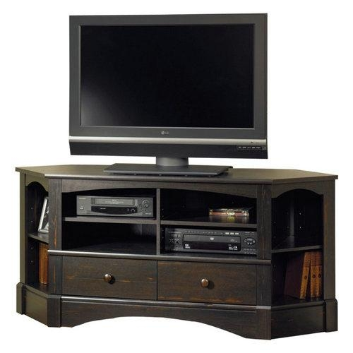Reviews: Sauder Harbor View Corner Tv Stand For 40 Inch Tv | Best Intended For Newest 40 Inch Corner Tv Stands (Image 17 of 20)