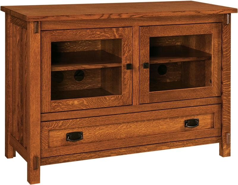 Rio Mission Small Tv Stand Intended For Best And Newest Small Tv Stands (Image 17 of 20)