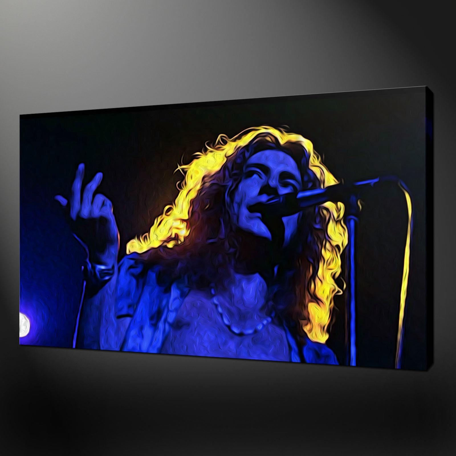 Robert Plant Led Zeppelin Canvas Wall Art Pictures Prints Variety Inside Led Zeppelin Wall Art (Image 16 of 20)
