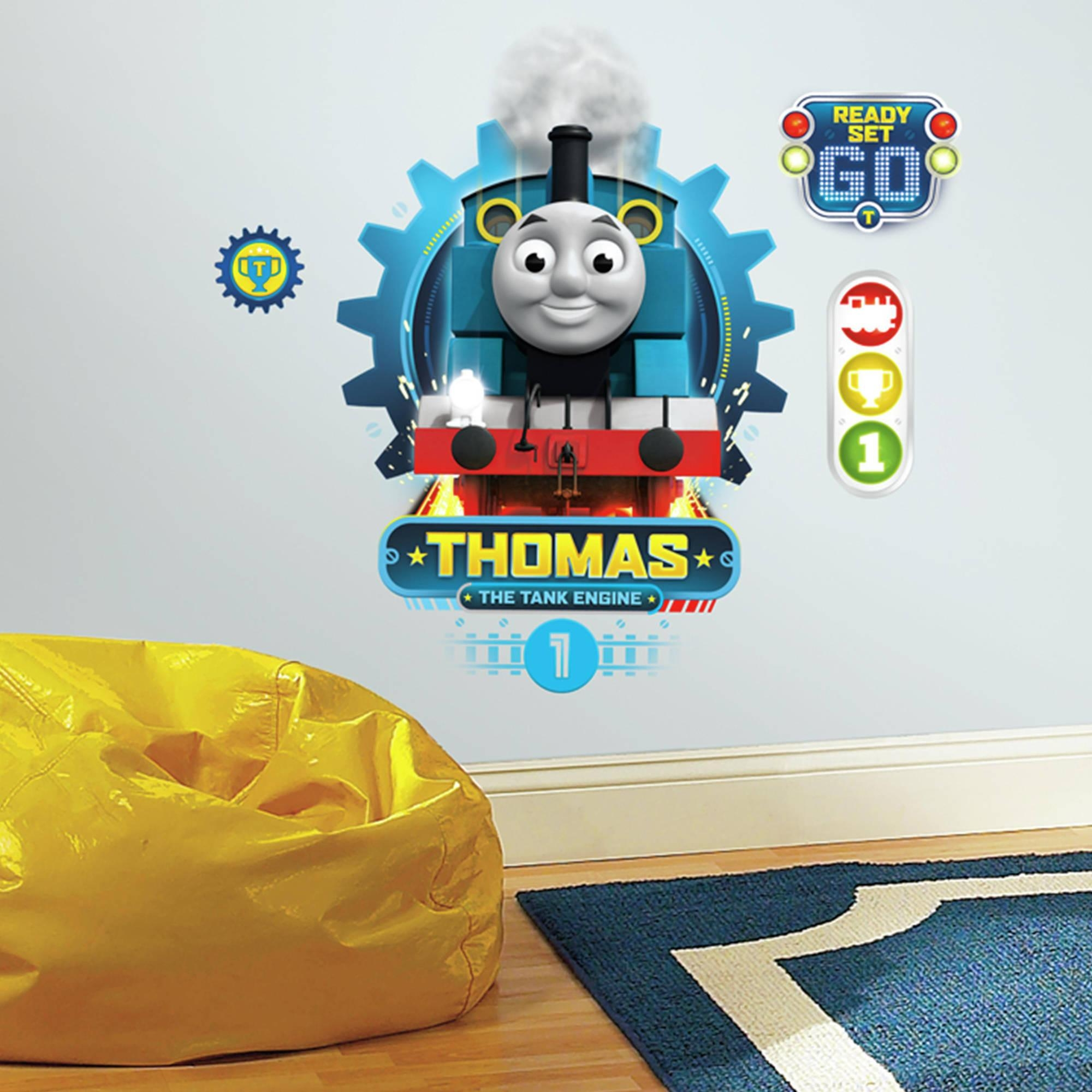 Thomas The Tank Engine Wall Stickers 20 Ideas Of Thomas The Tank Wall Art Wall Art Ideas
