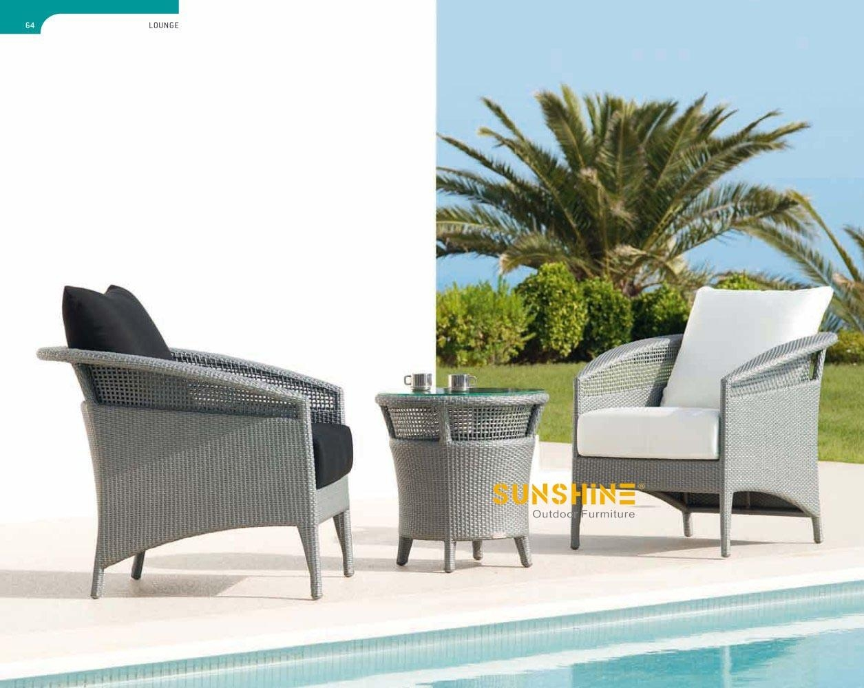 Round Rattan Dining Sets – Outdoor Furniture|Modern Rattan Inside Modern Rattan Sofas (Image 18 of 23)