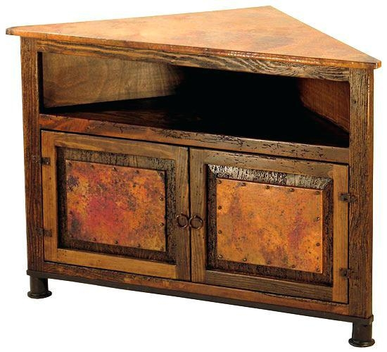 Rustic Corner Tv Stand – Effluvium Inside Current Rustic Corner Tv Stands (Image 13 of 20)
