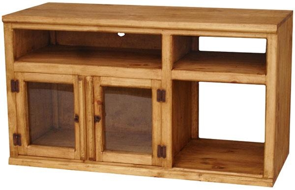 Rustic Furniture – Colima Mexican Rustic Pine Tv Stand Throughout Most Recent Rustic Pine Tv Cabinets (Image 7 of 20)
