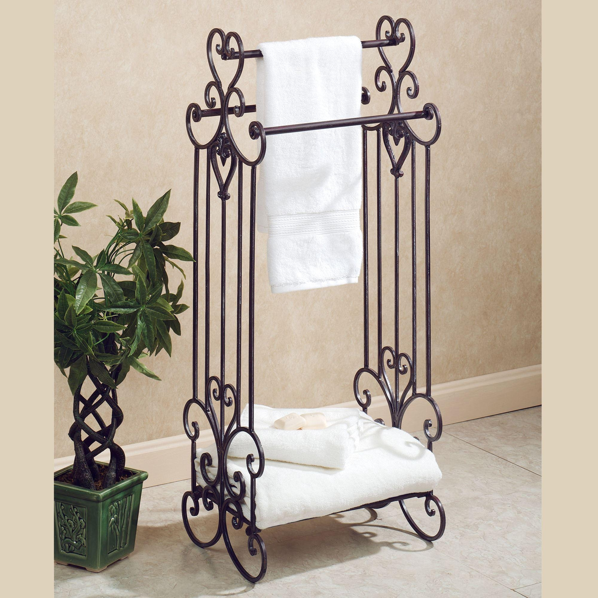 Rustic Metal Wall Art Tags : Italian Wrought Iron Ornament Day Bed  Throughout Italian Wood Wall