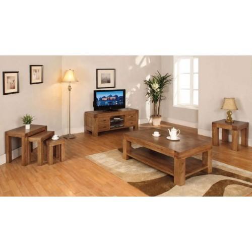Rustic Oak Large Bookcase With Cupboards Regarding Latest Santana Oak Tv Furniture (View 9 of 20)