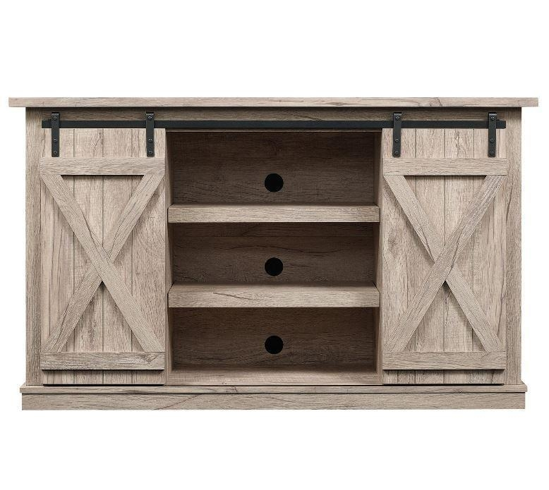 Rustic Tv Stand | Ebay For Current Rustic Tv Stands (Image 14 of 20)