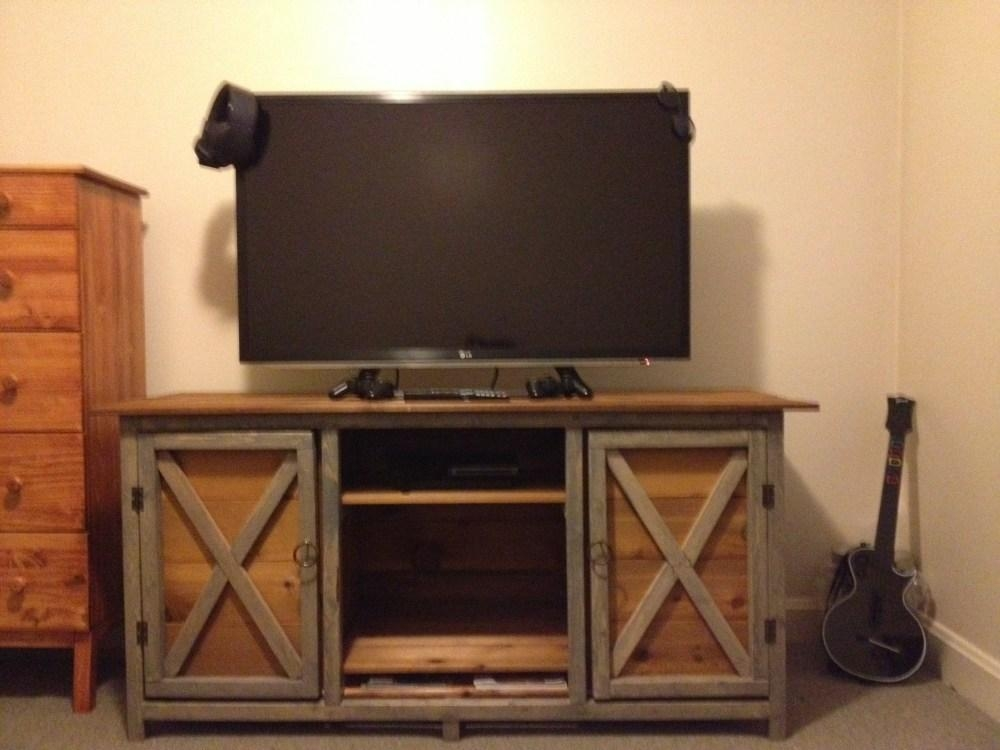 Rustic Tv Stands Diy | Home Design Ideas Intended For Latest Rustic Tv Stands For Sale (View 4 of 20)