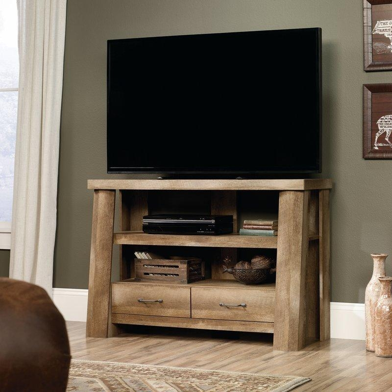 Rustic Tv Stands You'll Love | Wayfair Inside Most Recent Comet Tv Stands (View 5 of 20)