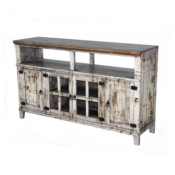 Rustic White Tv Stand | Chubby's Mattress – Mattresses And Bedroom Throughout Current Rustic Tv Stands (Image 19 of 20)