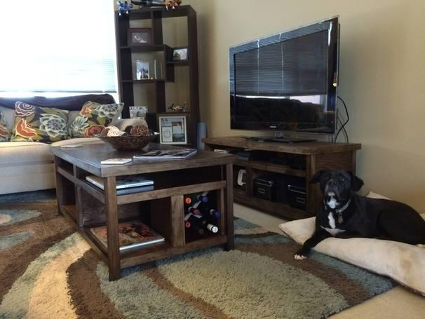 Ryobi Nation Intended For Most Current Rustic Coffee Table And Tv Stand (View 16 of 20)