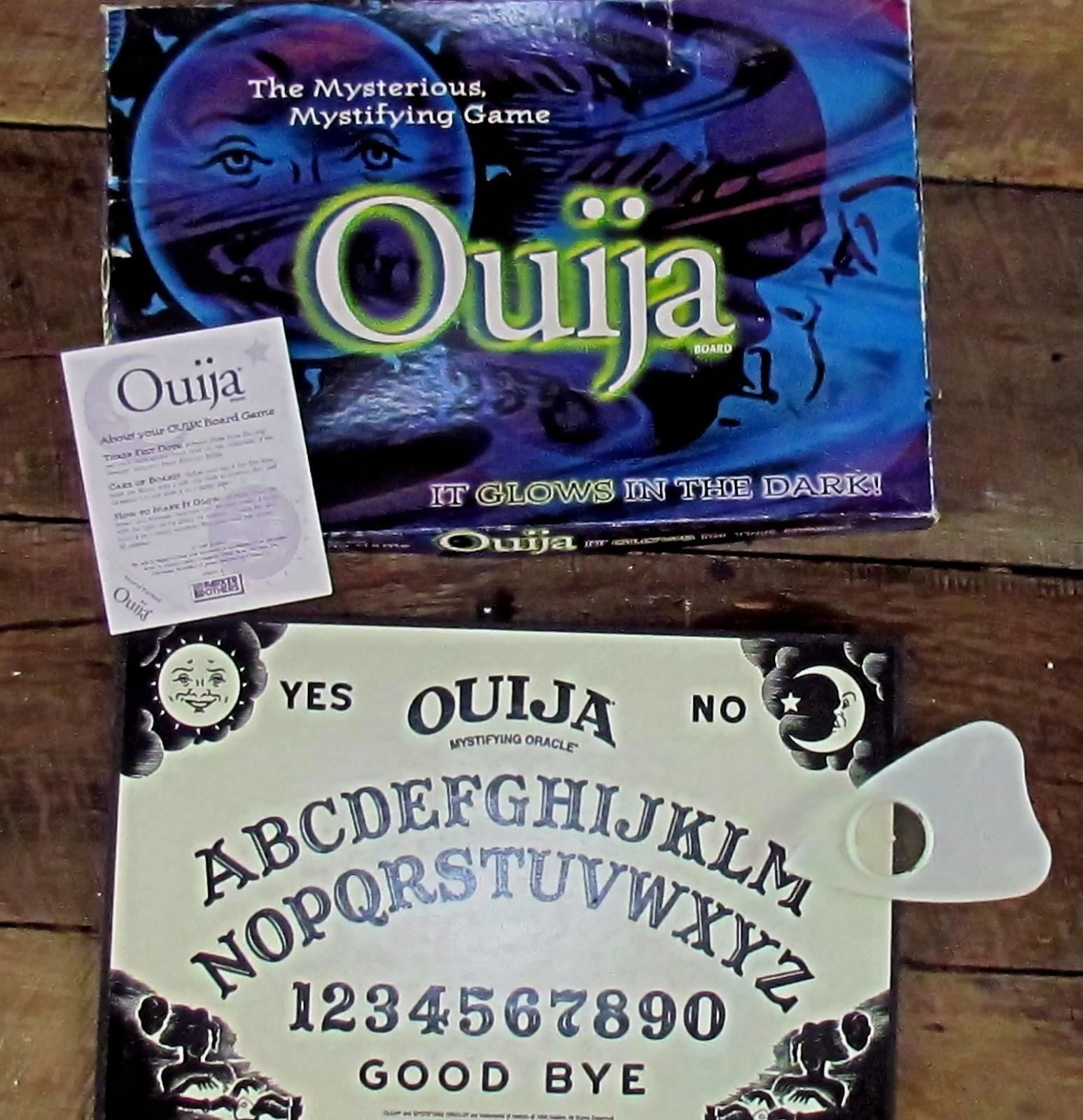 Saga's Cottage : August 2013 Pertaining To Ouija Board Wall Art (View 19 of 20)