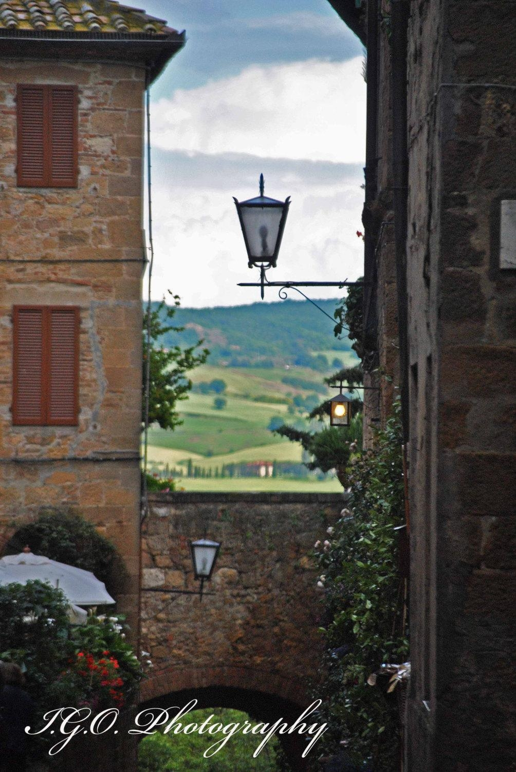 Sale Tuscany Countryside Landscape And Architecture With Regard To Italian Countryside Wall Art (View 20 of 20)