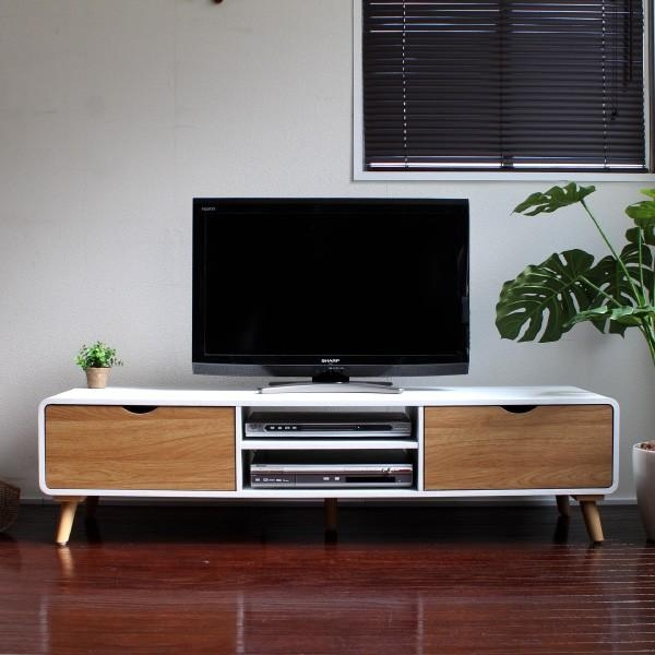 Samurai Furniture | Rakuten Global Market: Tv Stand Lowboard 150 With Regard To Most Recent Scandinavian Design Tv Cabinets (Image 17 of 20)