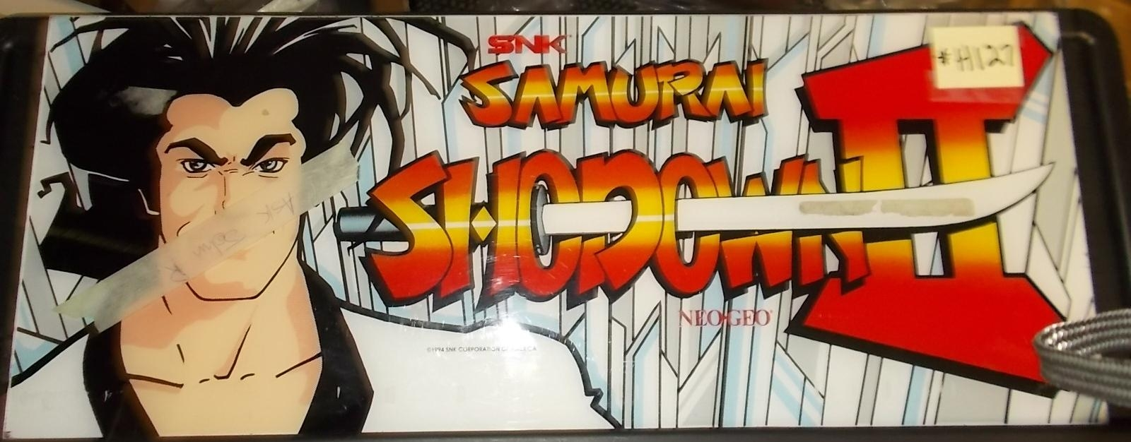 Samurai Shodown Arcade Machine Game Overhead Marquee Header For With Regard To Arcade Wall Art (Image 15 of 20)