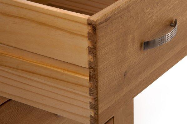 Santana Blonde Oak Living Room Furnitureametis Intended For Recent Santana Oak Tv Furniture (Image 19 of 20)