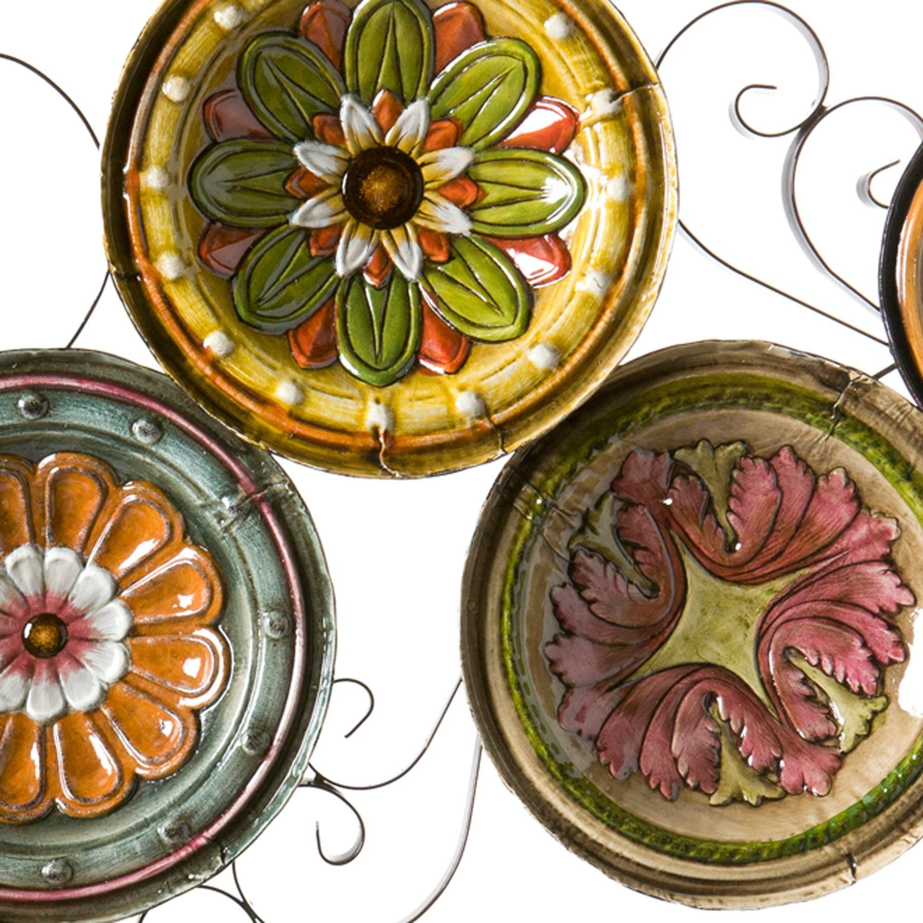 Scattered Italian Plates Wall Artsouthern Enterprises | Ws9435 In Italian Plates Wall Art Sets (Image 13 of 20)