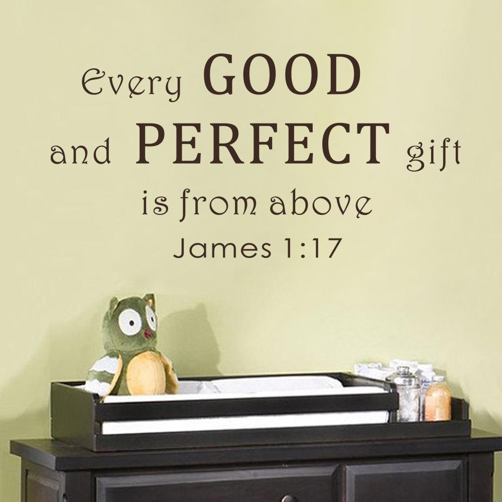 Featured Image of Scripture Vinyl Wall Art