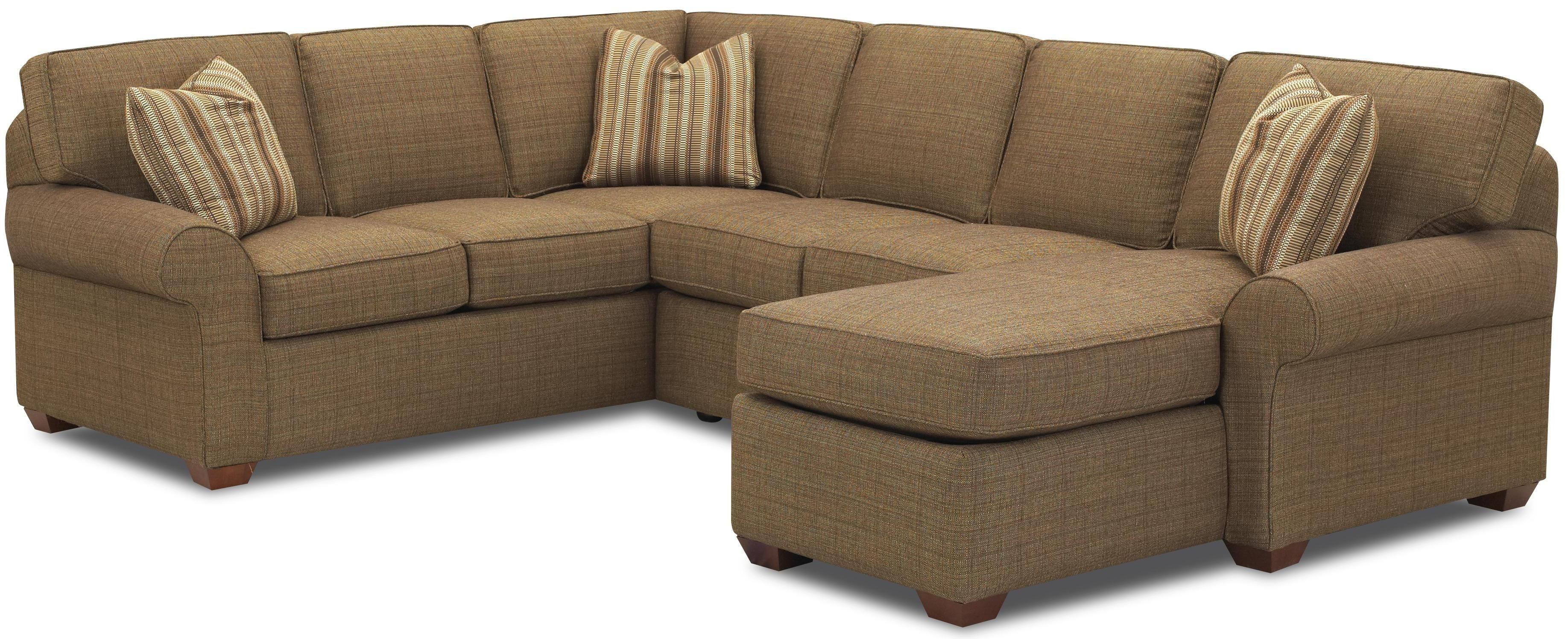 Sectional Sofa Group With Right Chaise Loungeklaussner | Wolf Pertaining To Sofas With Chaise Longue (View 2 of 20)