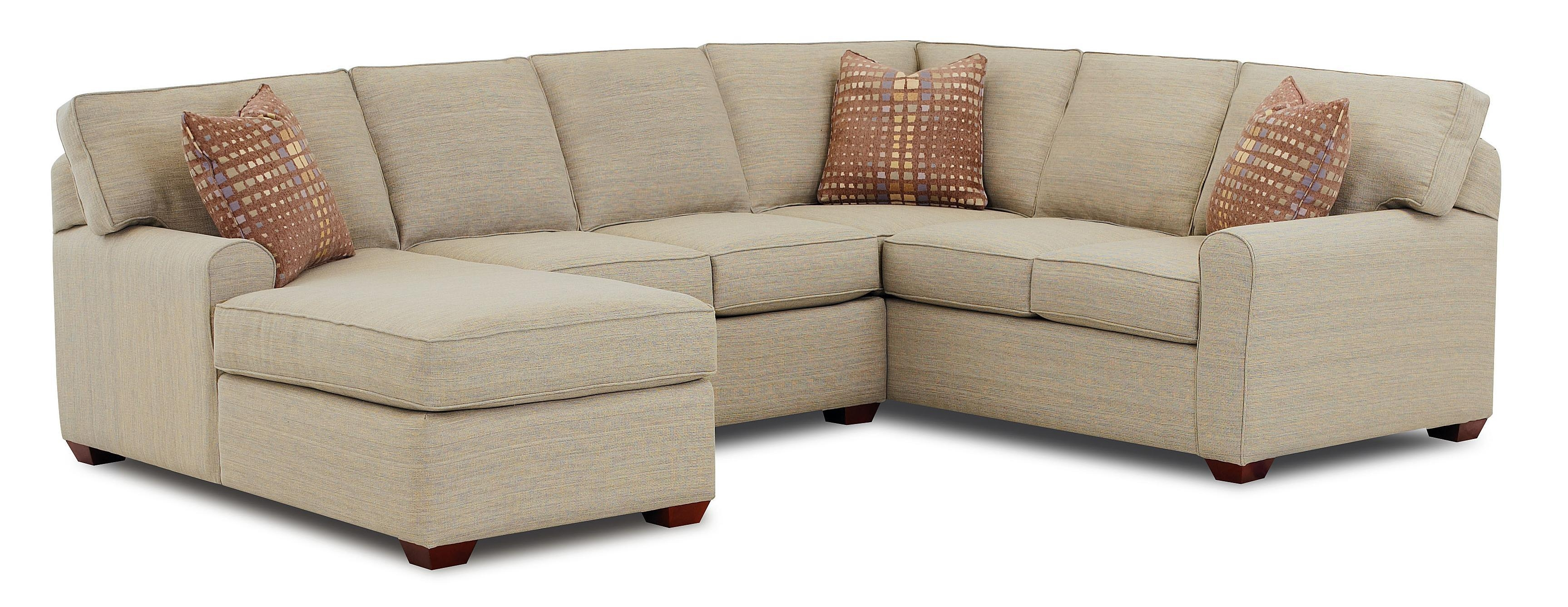 Sectional Sofa With Left Facing Chaise Loungeklaussner   Wolf Throughout Sofas With Chaise Longue (Image 12 of 20)