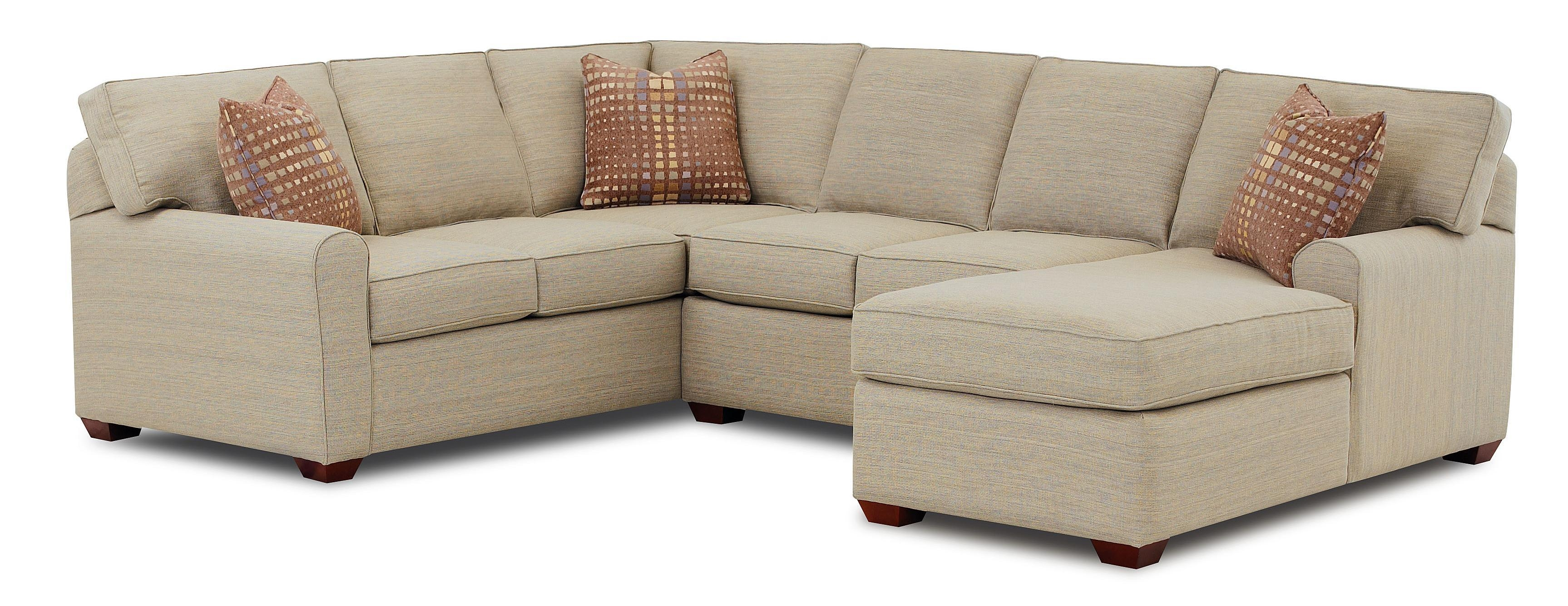 Sectional Sofa With Right Facing Chaise Loungeklaussner | Wolf Within Sofas With Chaise Longue (Image 13 of 20)