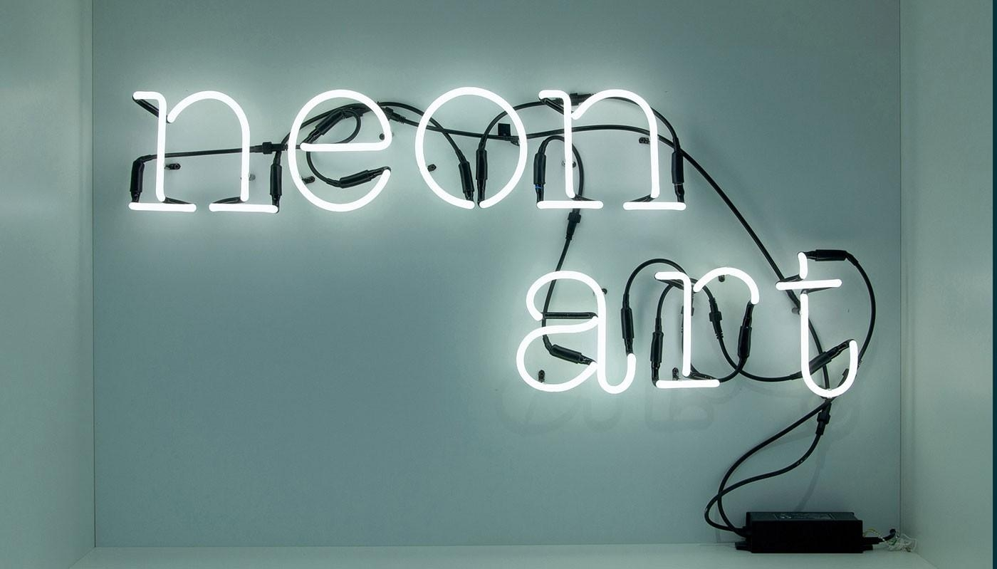 Seletti Neon Font Wall Light Throughout Neon Light Wall Art (Image 11 of 20)