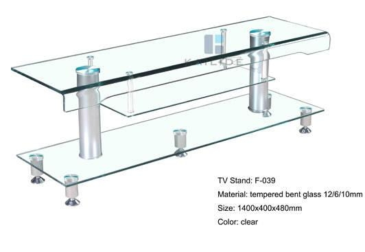 Sell Clear Glass Tv Stand Furniture Supplier,manufacturer,selling Pertaining To Most Current Clear Glass Tv Stand (Image 16 of 20)
