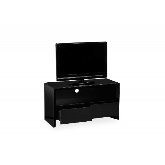 Serge Living | Mayfair Black High Gloss Small Tv Unit Inside Current Soho Tv Unit (View 18 of 20)